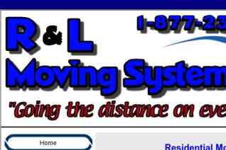 R and L Moving Systems reviews and complaints