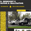 R DeGroodt II Paving And Sealcoating reviews and complaints