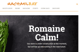 Rachael Ray Store reviews and complaints