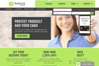 Radius Bank reviews and complaints