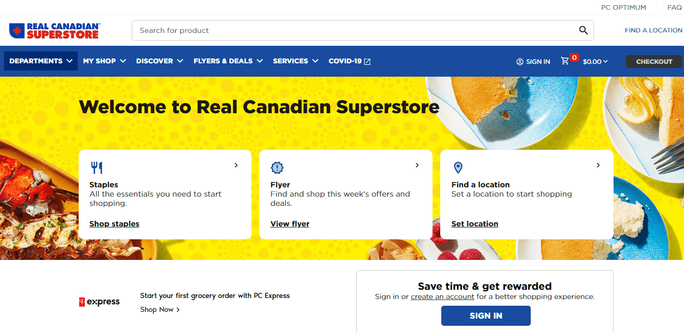 Real Canadian Superstore reviews and complaints