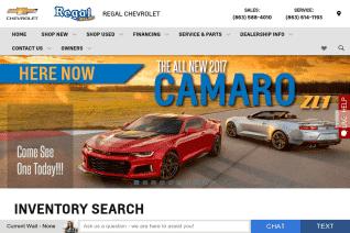 Regal Chevrolet reviews and complaints