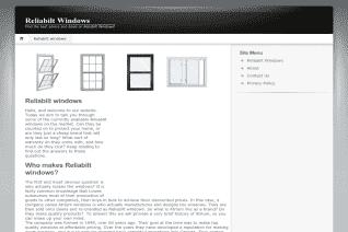 ReliaBilt Windows reviews and complaints