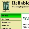 Reliable Title and Escrow