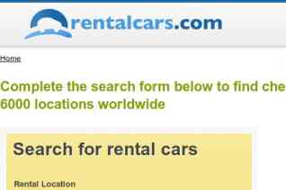 Rentalcars reviews and complaints