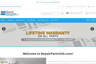 RepairPartsUSA reviews and complaints