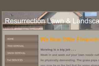 Resurrection Lawn And Landscape reviews and complaints