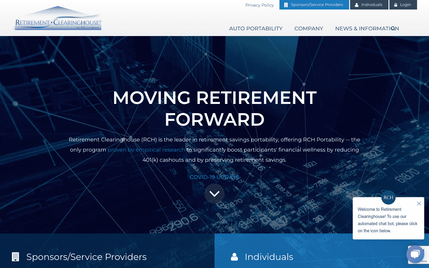 Retirement Clearinghouse reviews and complaints