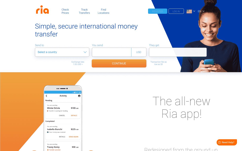 Ria Money Transfer reviews and complaints