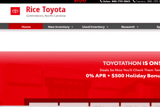 Rice Toyota reviews and complaints