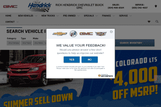 Rick Hendrick Chevrolet Buick Gmc Richmond reviews and complaints