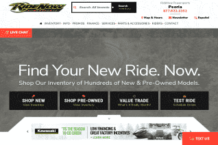 RideNow Powersports Of Peoria reviews and complaints