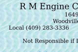 RM Engine Center reviews and complaints