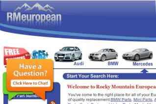 RM European Auto Parts reviews and complaints