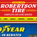 Robertson Tire reviews and complaints