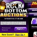 Rockbottom Auctions reviews and complaints