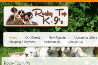 Rocky Top K9s reviews and complaints