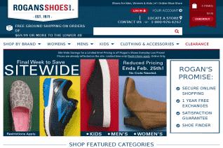Rogans Shoes reviews and complaints
