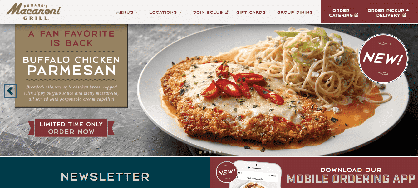 Romanos Macaroni Grill reviews and complaints