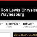 Ron Lewis Chrysler Dodge Jeep Ram Waynesburg reviews and complaints