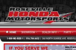 Roseville Honda Motorsports reviews and complaints