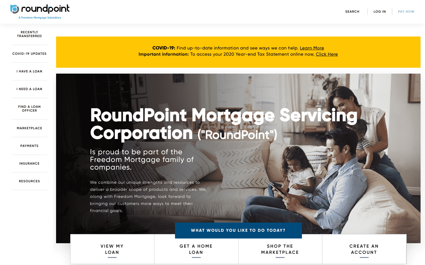 Roundpoint Mortgage Servicing reviews and complaints