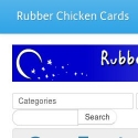 Rubber Chicken Cards