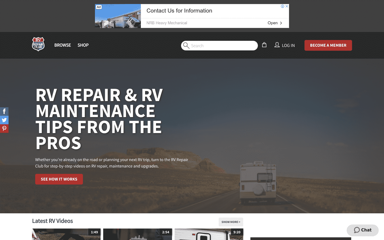 Rv Repair Club reviews and complaints