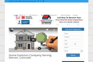 Safe House Exteriors reviews and complaints