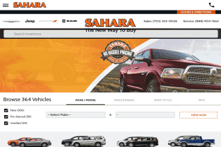 Sahara Chrysler Dodge Jeep Ram reviews and complaints