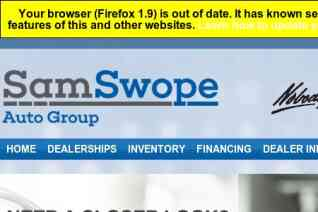 Sam Swope Auto Group reviews and complaints