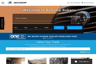 Schomp Subaru reviews and complaints