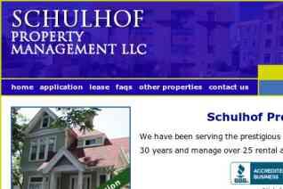 Schulhof Property Management reviews and complaints