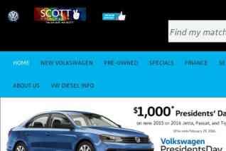 Scott Volkswagen reviews and complaints