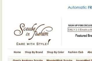 Scrubs In Fashion reviews and complaints