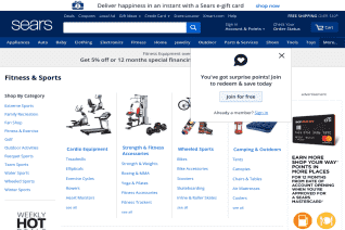 Sears Fitness reviews and complaints