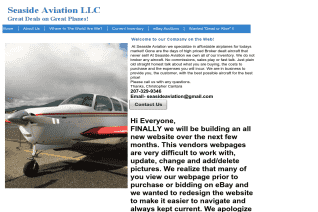 Seaside Aviation reviews and complaints