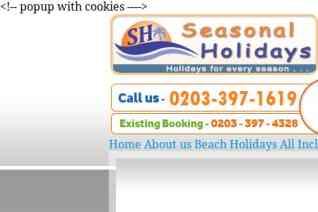 Seasonal Holidays UK reviews and complaints