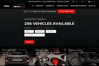 Secret City Chrysler Dodge Jeep Ram reviews and complaints