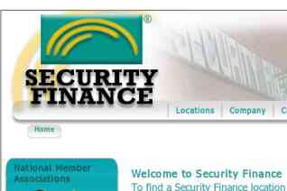 Security Finance reviews and complaints