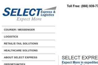 Select Express And Logistics reviews and complaints