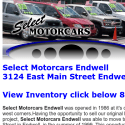 Select Motorcars Endwell reviews and complaints