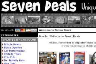 Seven Deals reviews and complaints