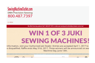 SewingMachineOutlet reviews and complaints