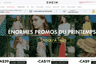 Shein Canada reviews and complaints