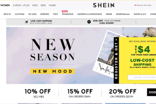 Shein New Zealand reviews and complaints