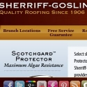 Sherriff Goslin Roofing reviews and complaints