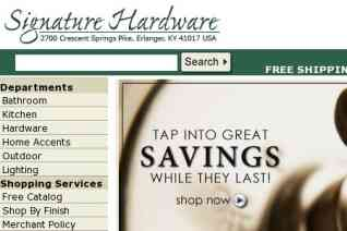 Signature Hardware reviews and complaints