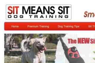 Sit Means Sit reviews and complaints