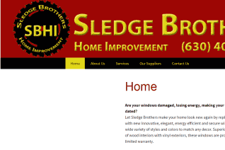 Sledge Brothers Home Improvement reviews and complaints